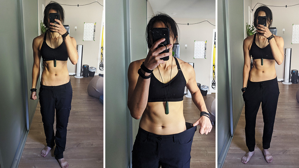 Progress photos from Week 3 of Intermittent Fasting